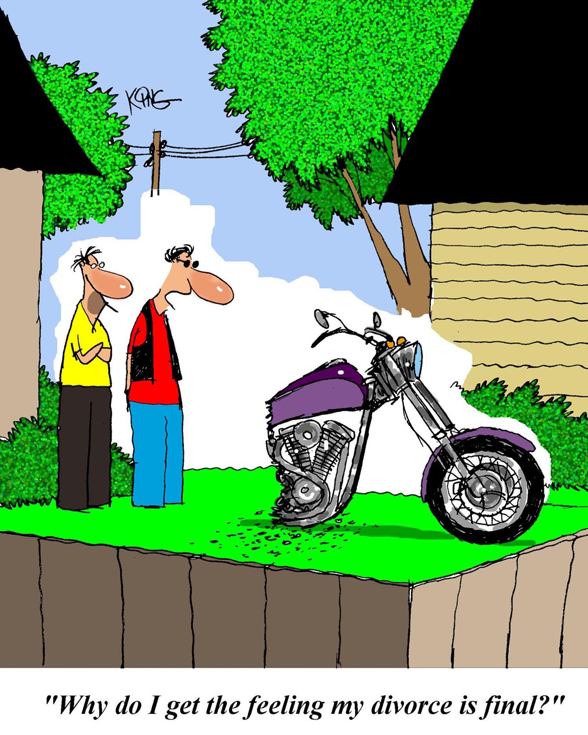 Going Off-Road… – Motorcycle Humor